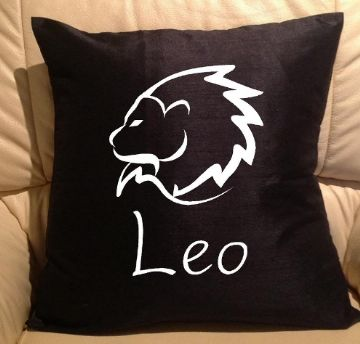 Horoscope - star sign Leo pillow, sofa cushions